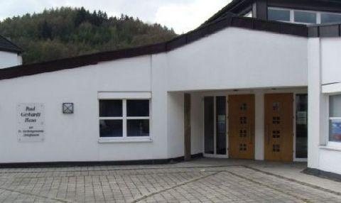 Eingang Paul-Gerhardt-Haus