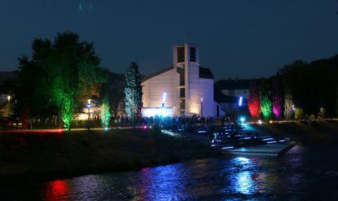 Waterkant bei Nacht