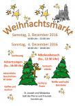 Flyer - Weihnachtsmarkt