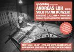 Plakat Piano Konzert mit Andreas Loh in der evangelischen Dorfkirche Herdecke-Ende