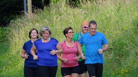 Unser Ziel: 40 Minuten dauerlaufen