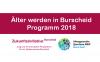Veranstaltungsreihe Älter werden in Burscheid