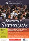 Plakat OVH-Serenadenkonzert 2016