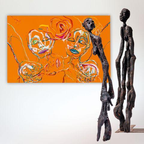 Rendel Freude & Gaby Ludwig - Skulptur und Malerei