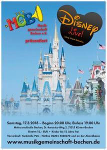 Konzertplakat 2018 MGB