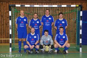 Die Siegermannschaft 2017