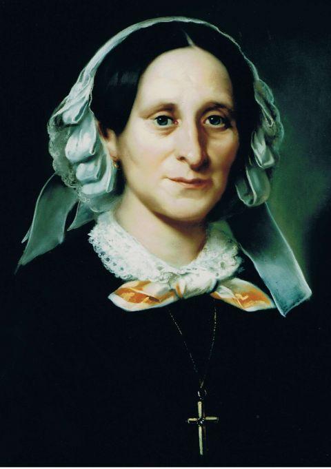 F. Lillotte, Porträt der Antonette Schmidt