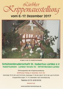 4. Lürbker Krippenausstellung 2017 im Hubertusheim