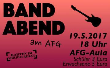 Bandabend AFG