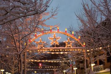 Weihnachtsbeleuchtung Bahnhofstraße
