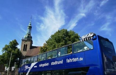 3-Seen-Tour im Cabriobus