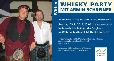 Whisky-Party