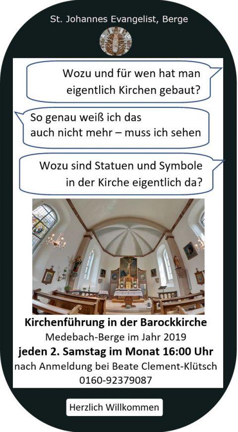 Ankündigung Kirchenführung