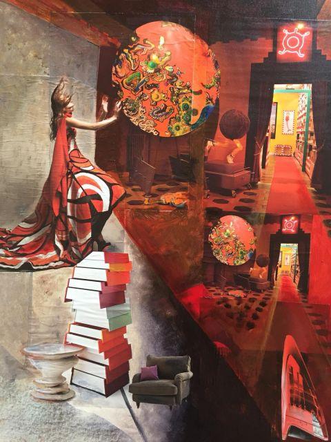 Collage + Art Journal Bild: Karin Koch