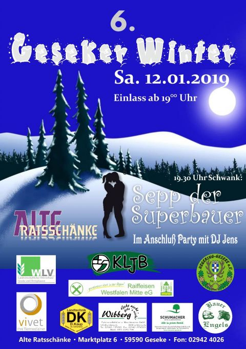 Plakat 6. Geseker Winter