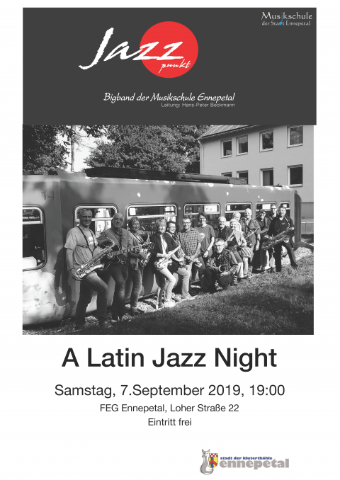 Plakat - A Latin Jazz Night