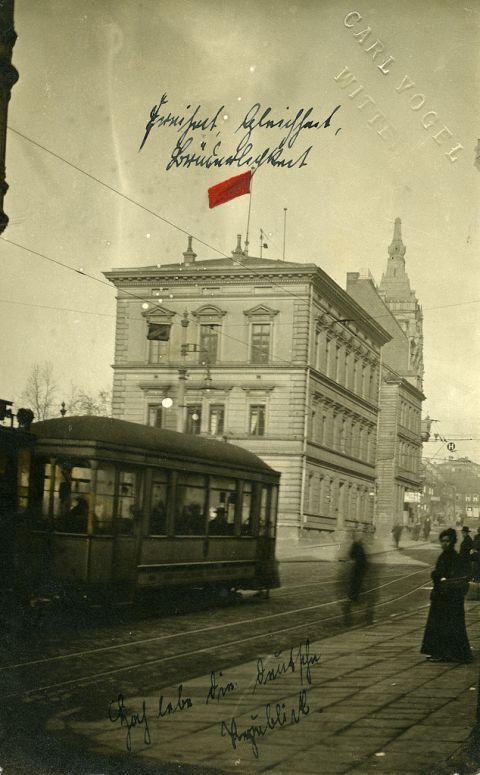 Foto: Carl Vogel, Repro: J. Fruck, Quelle: Stadtarchiv Witten, Postkartensammlung 0622